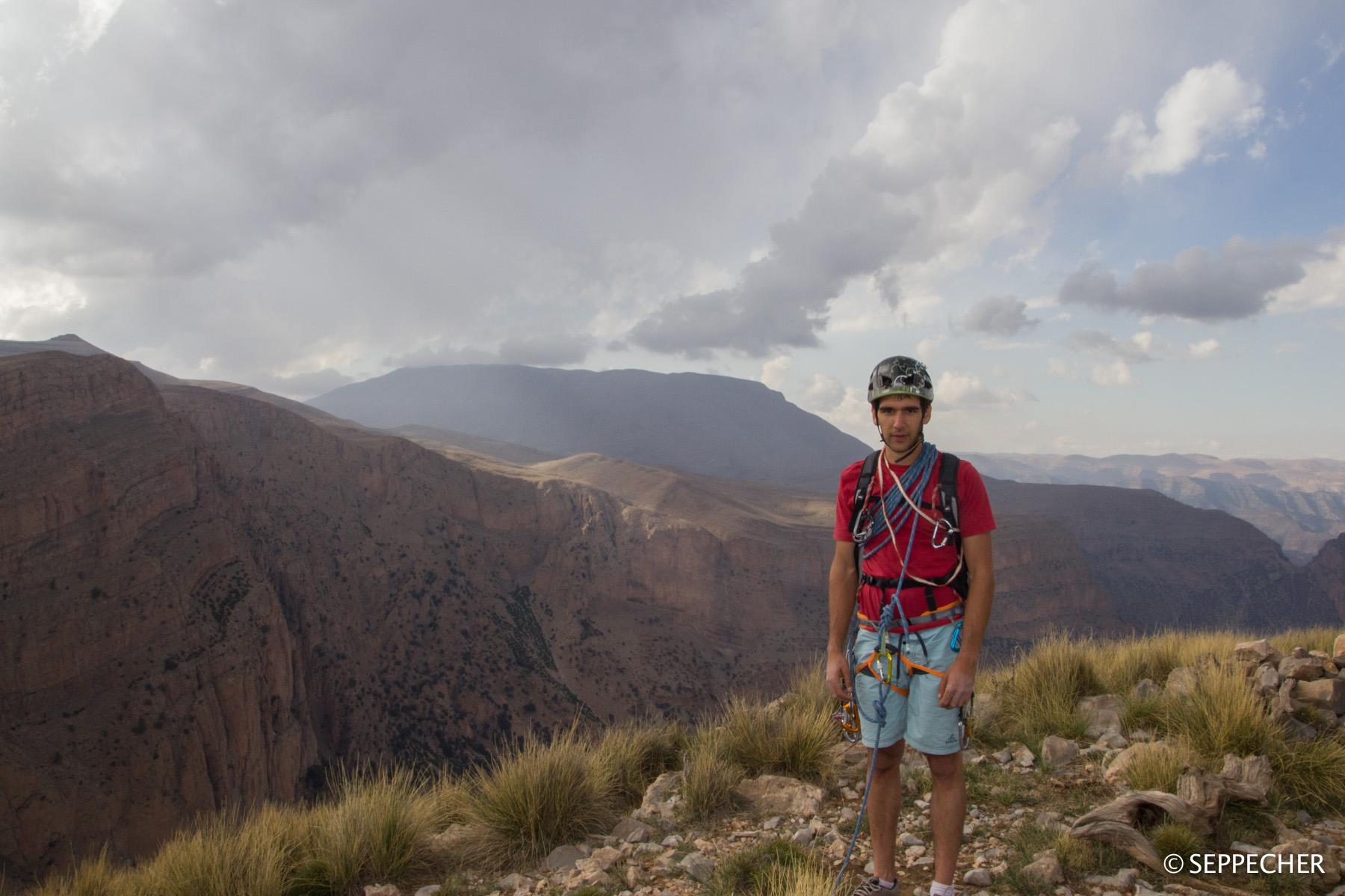Au sommet de l'Oujdad~3000m.