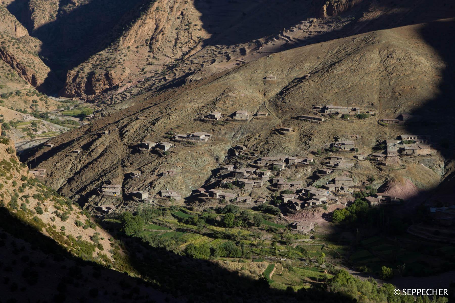 Le village de Taghia.