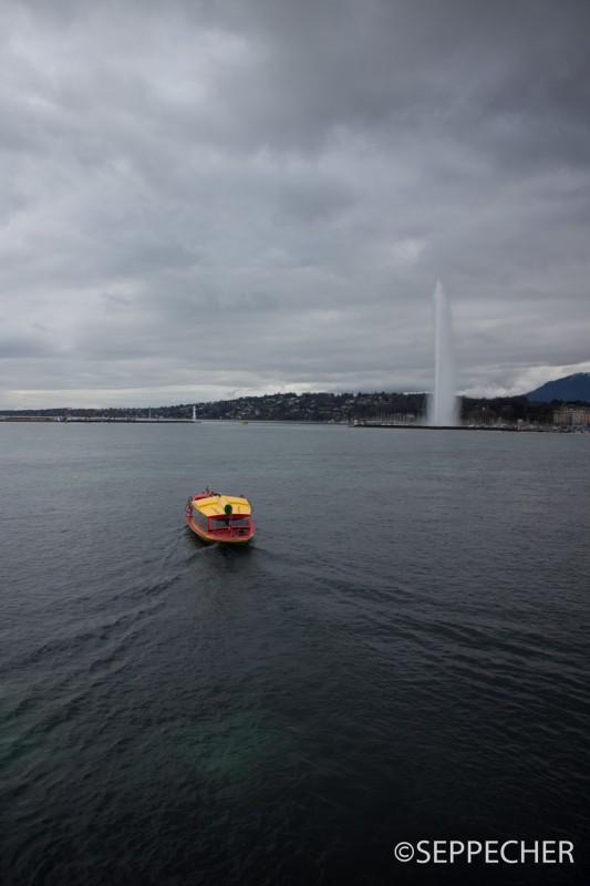 lac Léman et son jet d'eau
